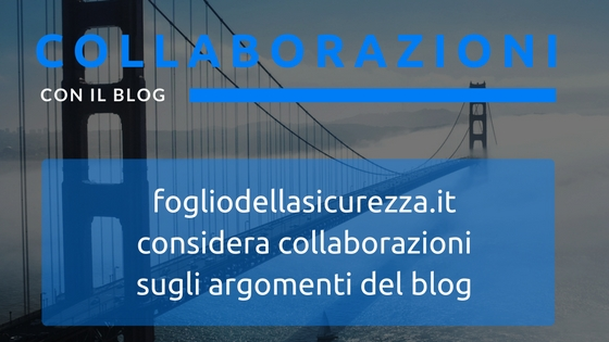 Safety blogger - Collaborazioni