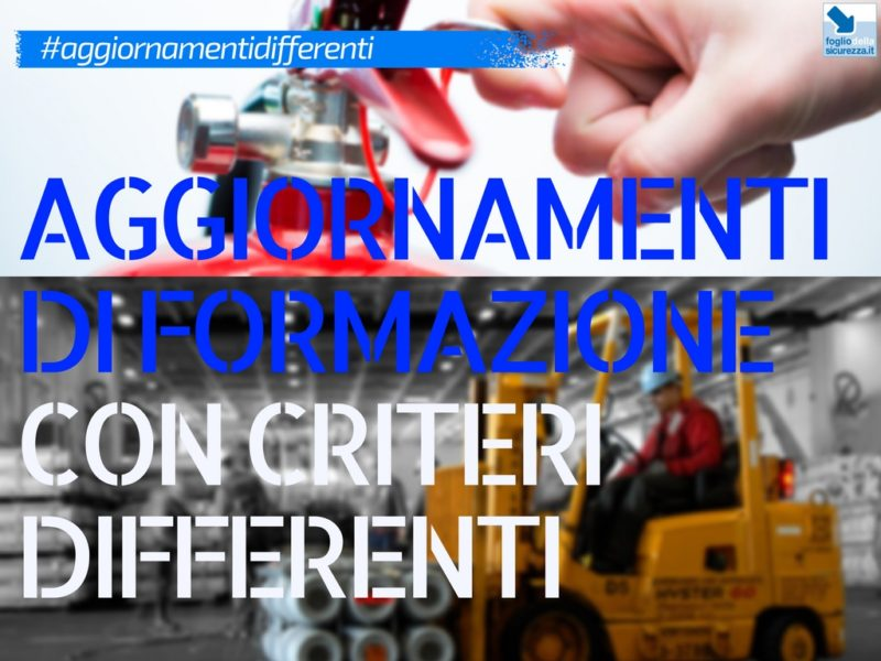 Aggiornamenti differenti da logiche differenti
