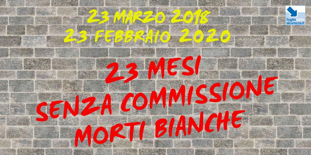 Commissione morti bianche 20200223