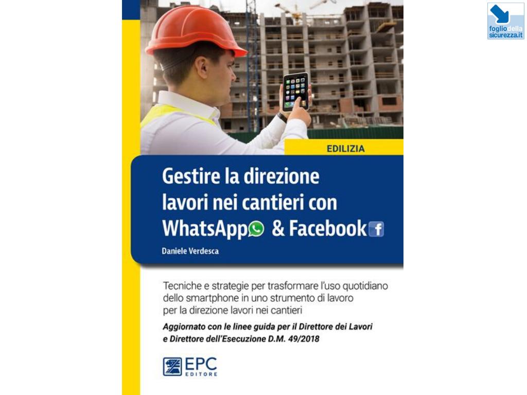 Gestire la direzione lavori nei cantieri con WhatsAppe Facebook