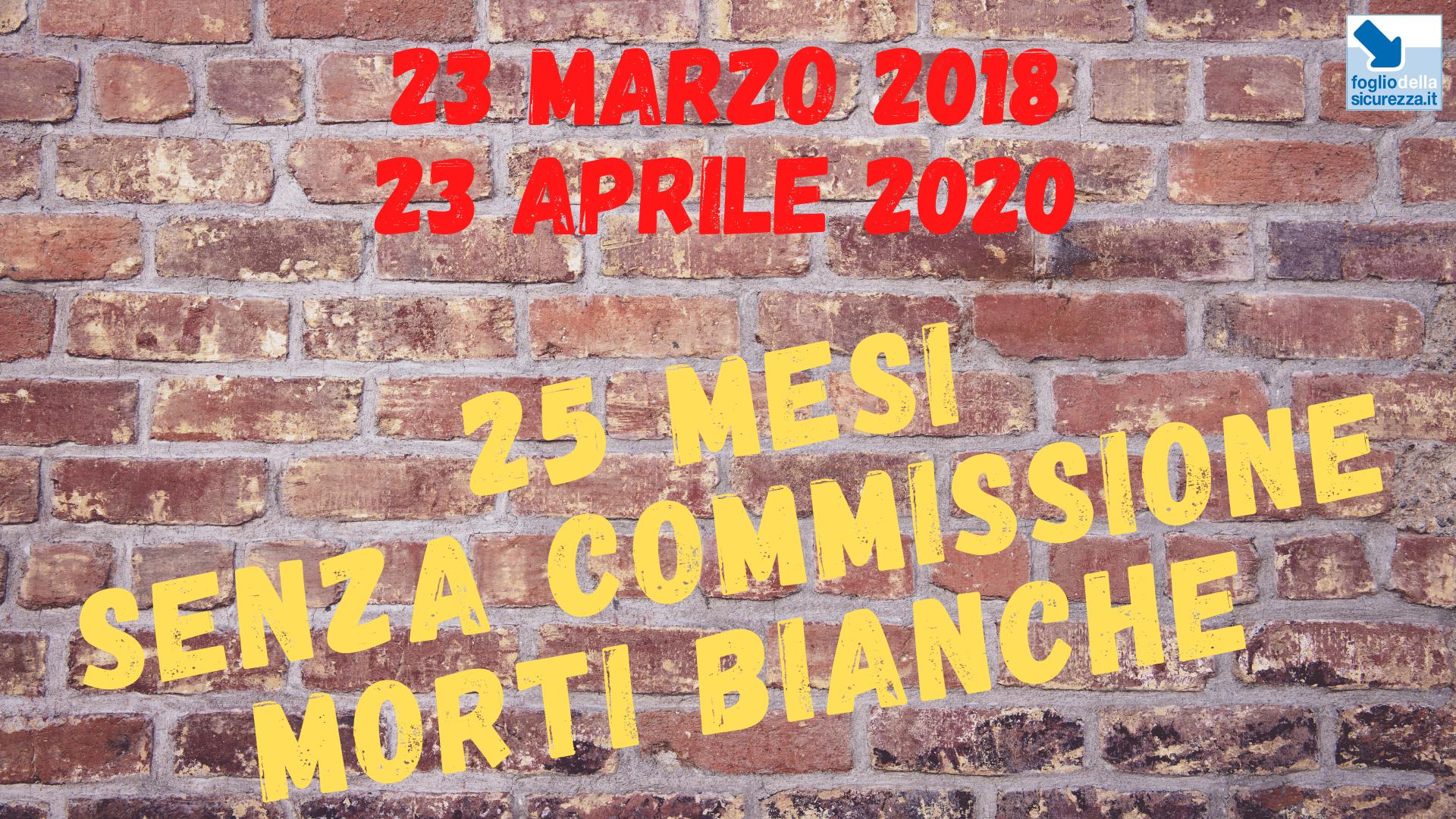 Commissione morti bianche 20200423