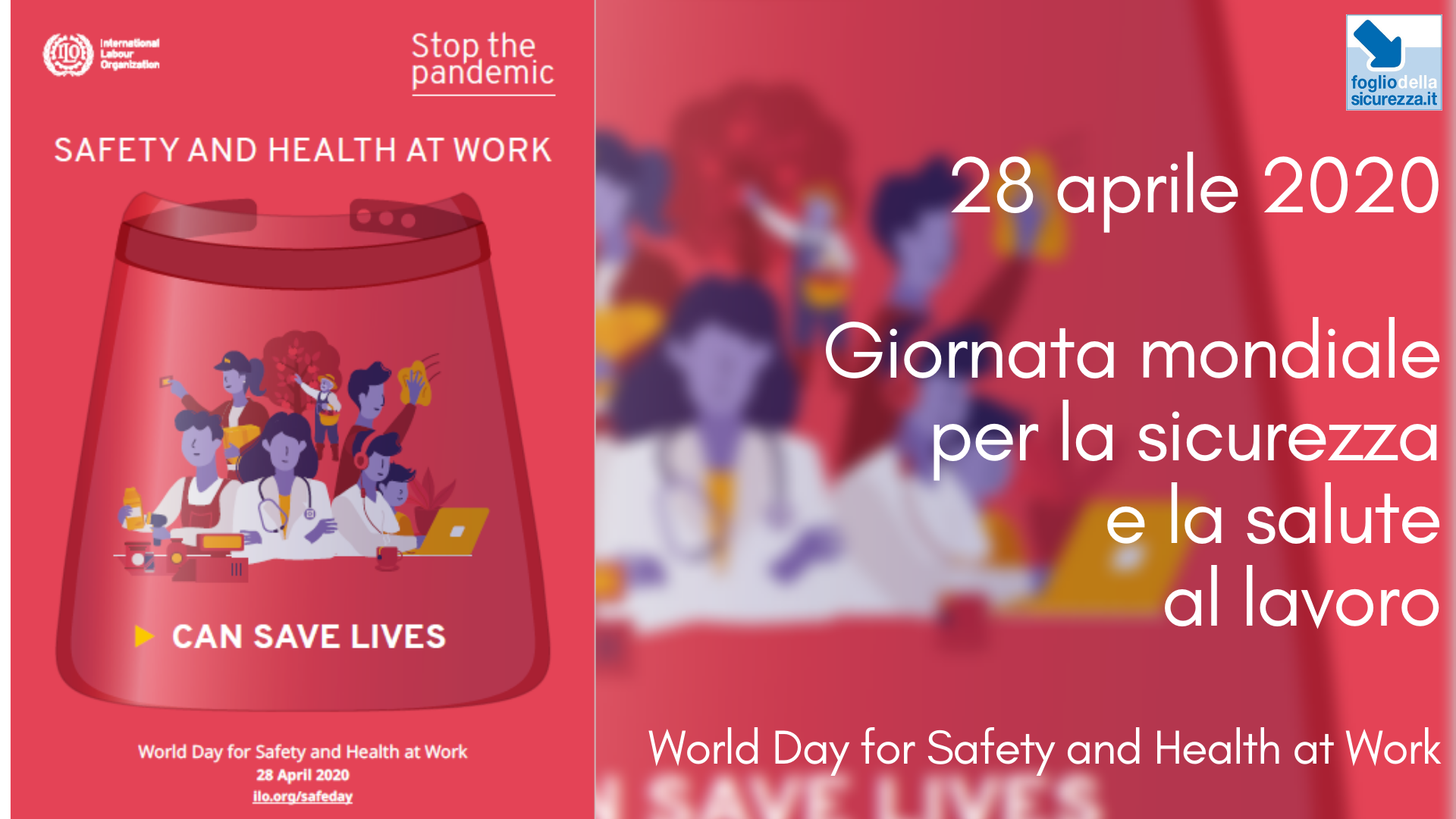 Giornata mondiale per la sicurezza e la salute al lavoro