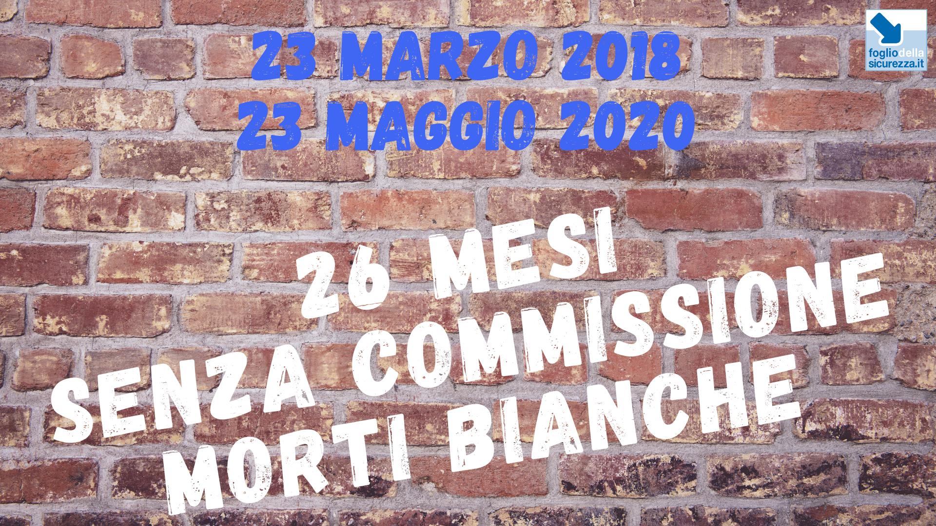Commissione morti bianche 20200523