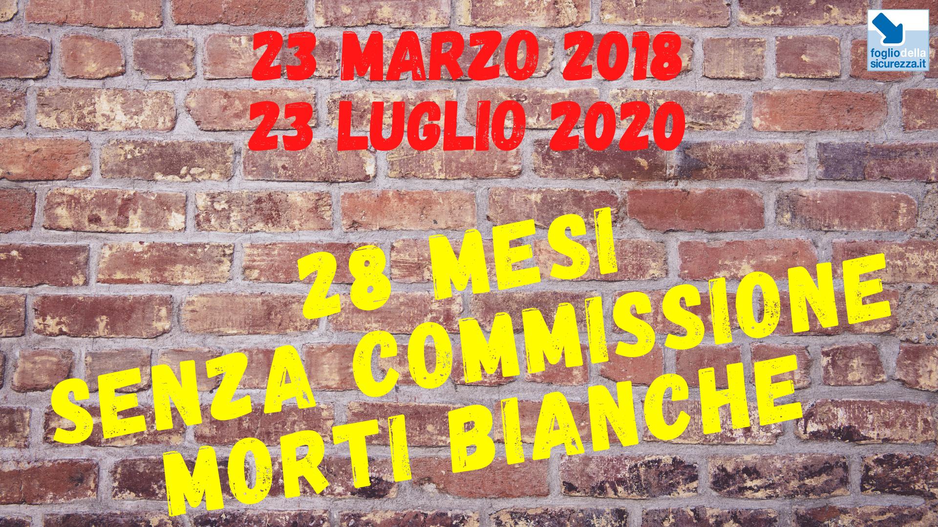 Commissione morti bianche 20200723